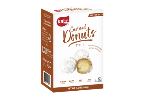 Katz Gluten Free Diepvries Mini Custard Donuts