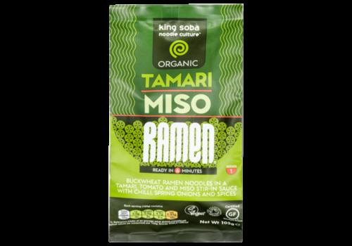 King Soba Tamari Miso Ramen Biologisch