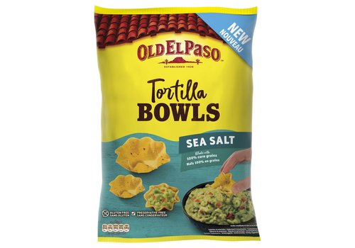 Old El Paso Tortilla Bowls Sea Salt
