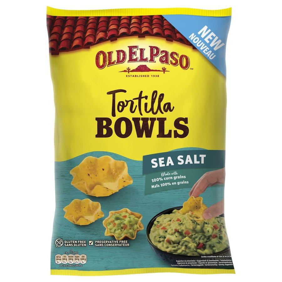 Tortilla Bowls Sea Salt