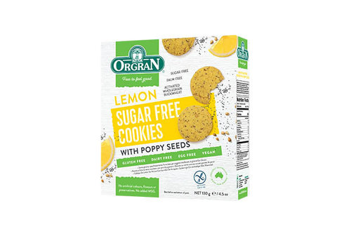 Orgran Sugar Free Cookies Lemon