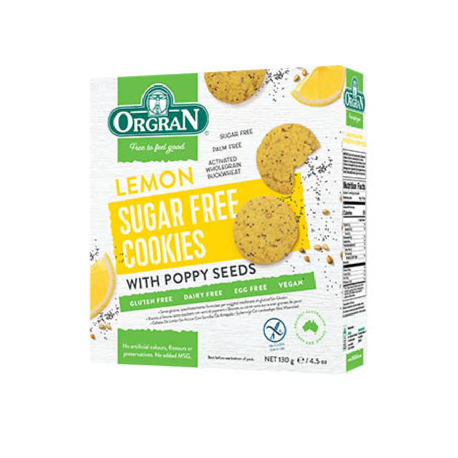 Sugar Free Cookies Lemon
