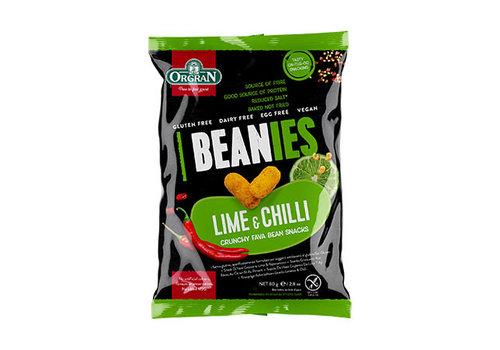 Orgran Beanies Lime & Chili