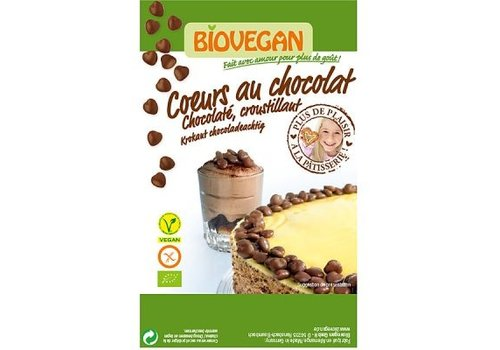 Biovegan Chocoladehartjes Biologisch