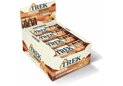 Trek Protein Nut Bar Dark Chocolate Orange 16 Stuks (THT 5-5-2020)