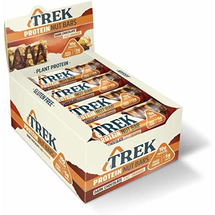 Protein Nut Bar Dark Chocolate Orange 16 Stuks (THT 5-5-2020)