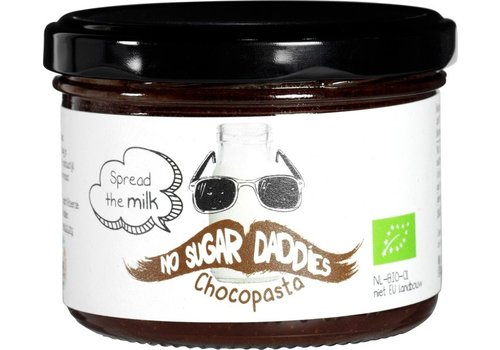 No Sugar Daddies Chocopasta Melk Biologisch