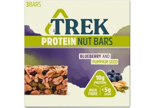 Trek Protein Nut Bar Blueberry Pumpkin Seed 3-pack (THT 24-3-2020)