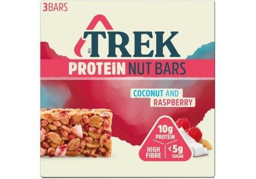 Trek Protein Nut Bar Coconut Raspberry 3-pack (THT 24-3-2020)