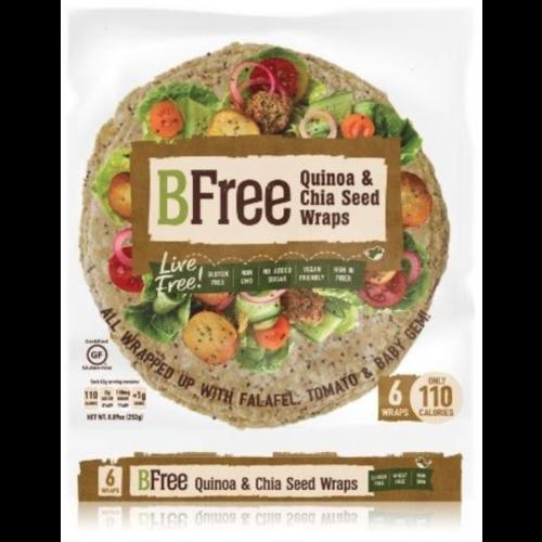 BFree Quinoa en Chiazaad Wraps 6 stuks