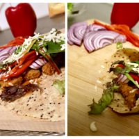 Recept: Glutenvrije chili chicken wrap