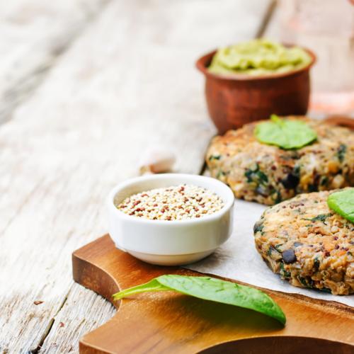 Recept: Glutenvrije quinoaburgertjes