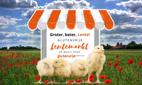 Glutenvrije Lentemarkt op zaterdag 28 maart 2020