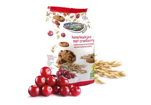 Corn Crake Haverkoekjes met Cranberry Biologisch
