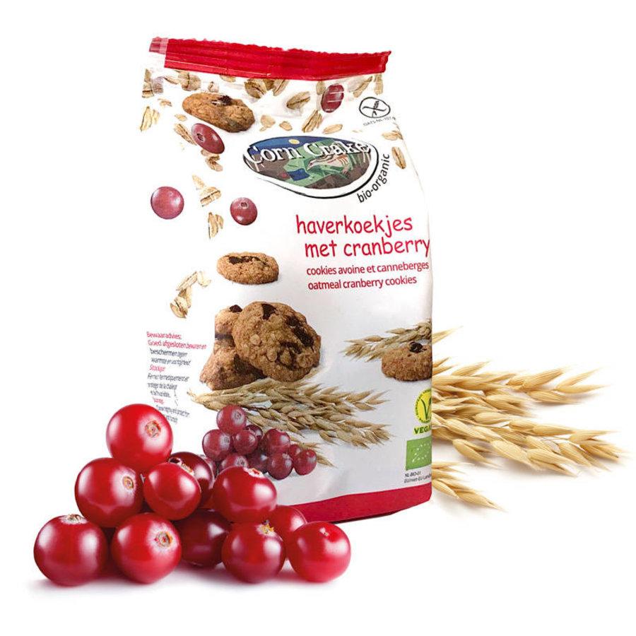 Haverkoekjes met Cranberry Biologisch