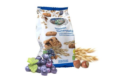Corn Crake Hazelnoot-Blueberrykoekjes Biologisch  (THT 23-09-2020)
