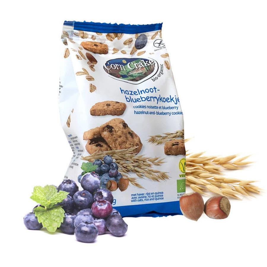 Hazelnoot-Blueberrykoekjes Biologisch
