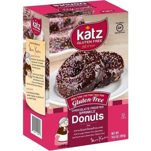 Katz Gluten Free Donuts Chocoladeglazuur met Sprinkels