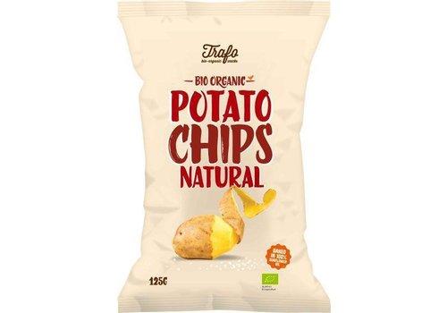 Trafo Chips Naturel Gezouten Biologisch