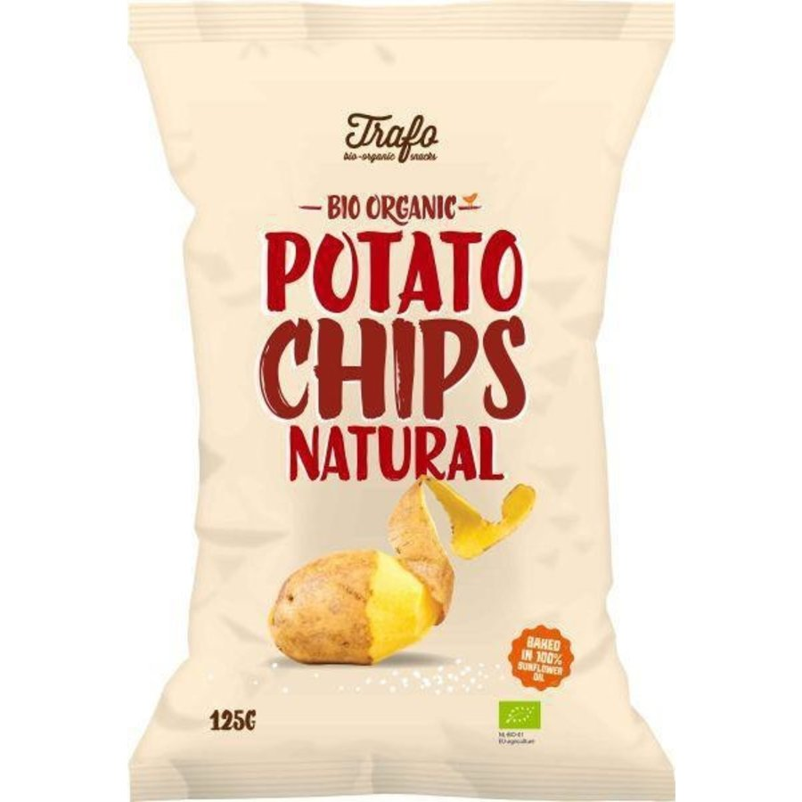 Chips Naturel Gezouten Biologisch