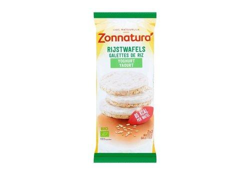 Zonnatura Rijstwafels Yoghurt Biologisch