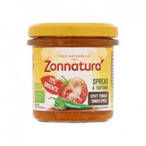 Zonnatura Groentespread Spicy Tomaat Biologisch