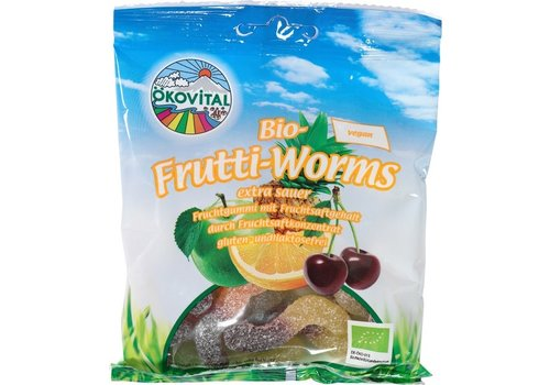 Ökovital Zure Fruitwormen Vegan Biologisch