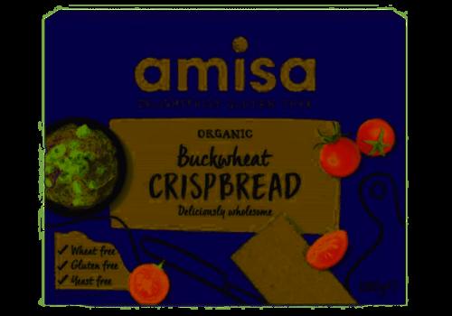 Amisa Boekweit Crispbread Biologisch