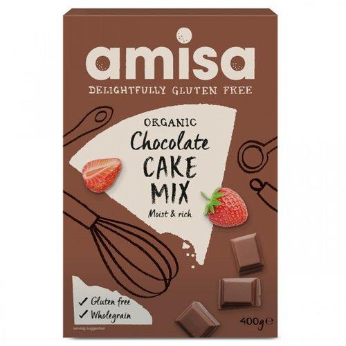 Amisa Chocolade Cakemix Biologisch