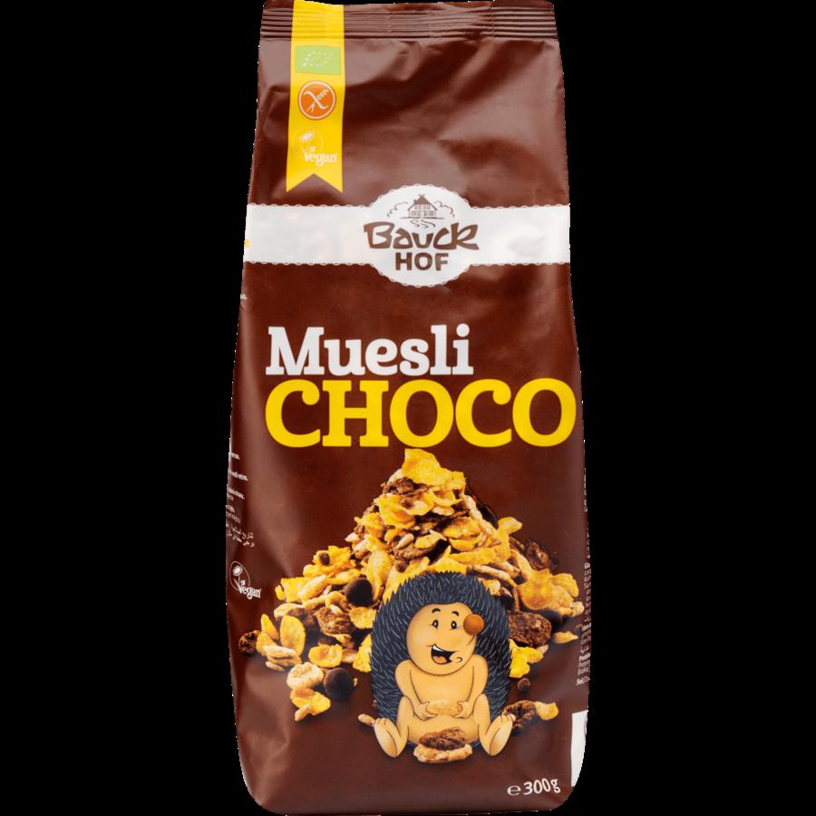 Krokante Muesli Choco Biologisch
