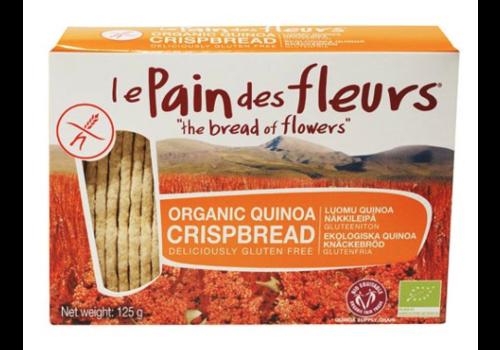 Le Pain des Fleurs Crackers Quinoa Biologisch (THT 28-8-2020)