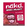Nakd Berry Delight Framboos  Bar 4-pack (THT 12-4-2021)