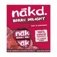 Berry Delight Framboos  Bar 4-pack (THT 12-4-2021)