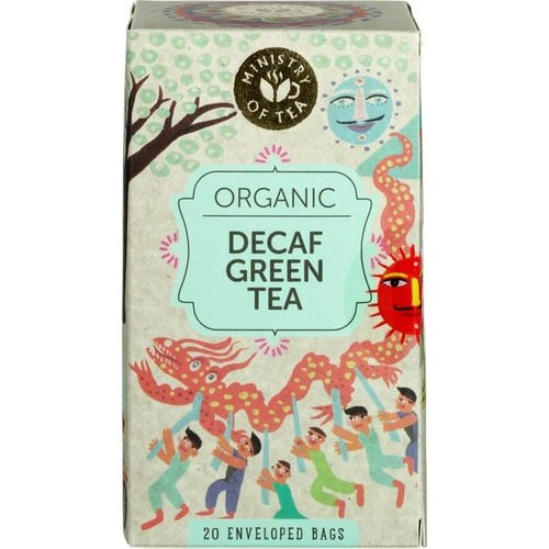 Ministry of Tea Decaf Green Tea Biologisch