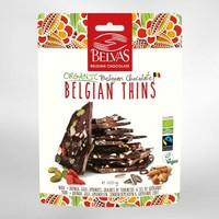 Belgian Thins Pure Chocolade Quinoa Goji Biologisch