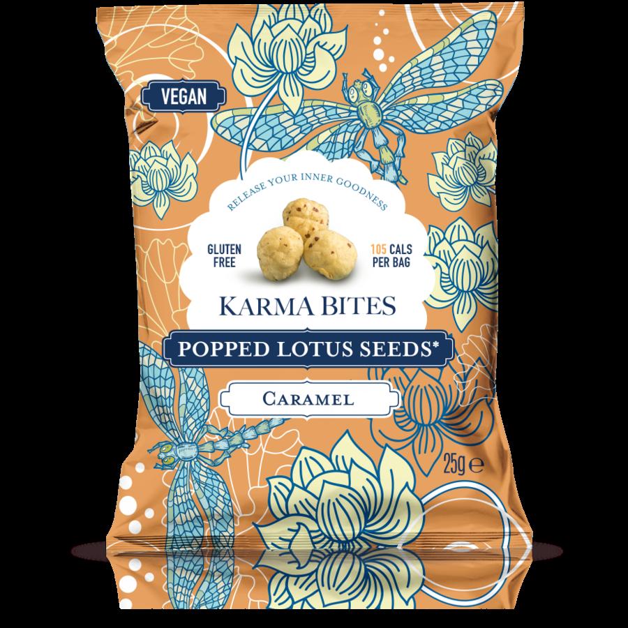 Popped Lotus Seeds Caramel