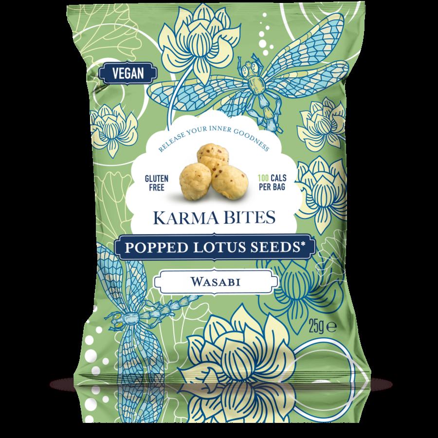 Popped Lotus Seeds Wasabi