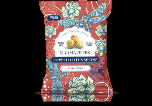 Karma Bites Popped Lotus Seeds Peri-Peri