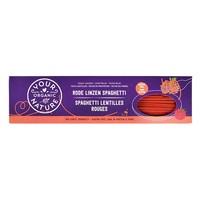 Rode Linzen Spaghetti Biologisch