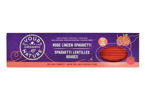 Your Organic Nature Rode Linzen Spaghetti Biologisch
