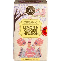 Lemon & Ginger Infusion Thee Biologisch