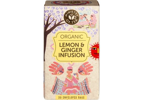 Ministry of Tea Lemon & Ginger Infusion Thee Biologisch