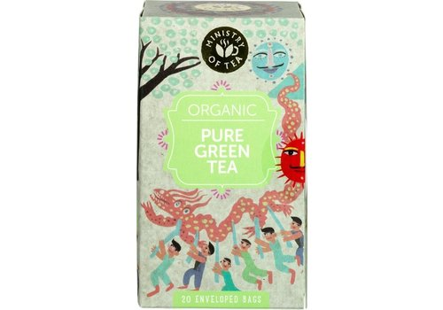 Ministry of Tea Pure Groene Thee Biologisch