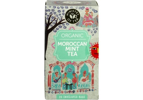 Ministry of Tea Moroccan Mint Thee Biologisch