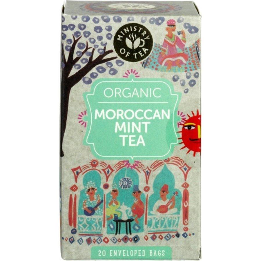 Moroccan Mint Thee Biologisch