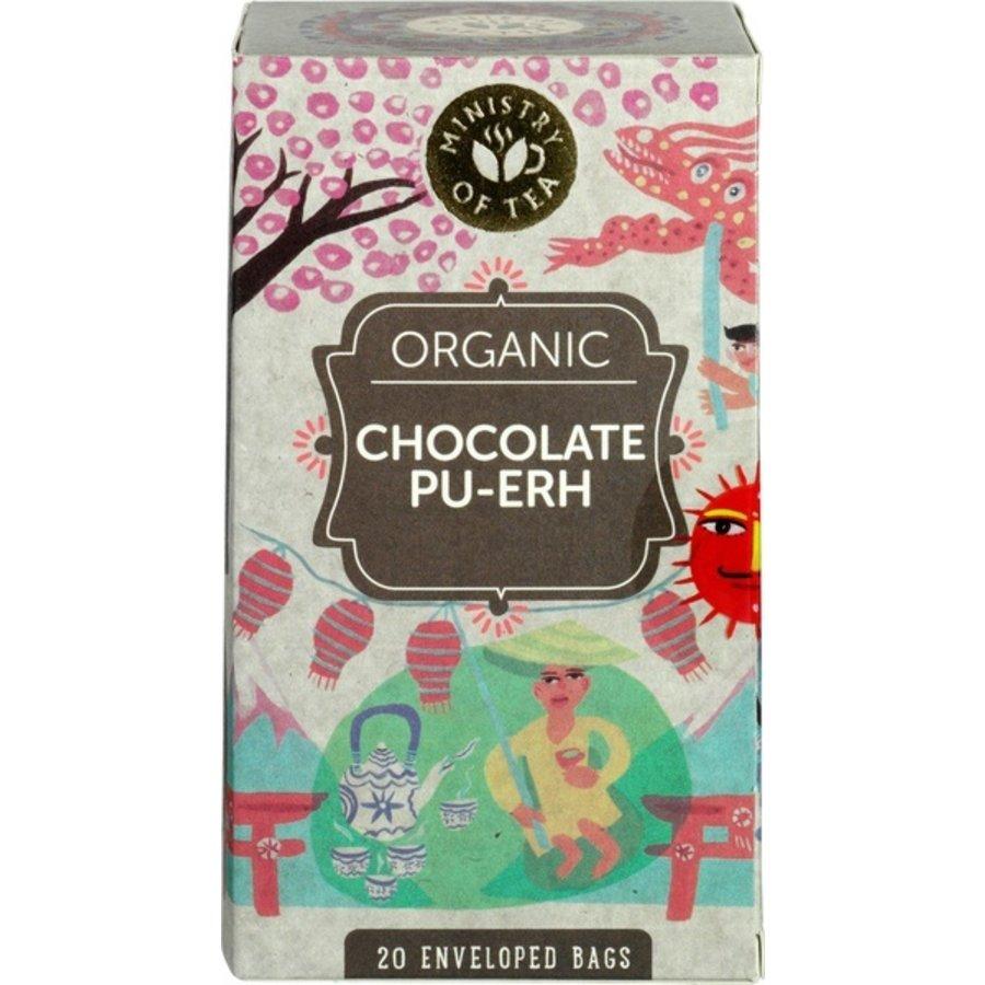 Chocolate Pu-Erh Thee Biologisch