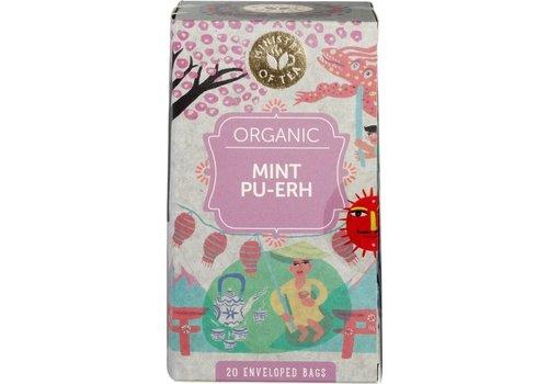 Ministry of Tea Mint Pu-Erh Thee Biologisch
