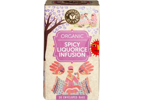 Ministry of Tea Liquorice Infusion Thee Biologisch