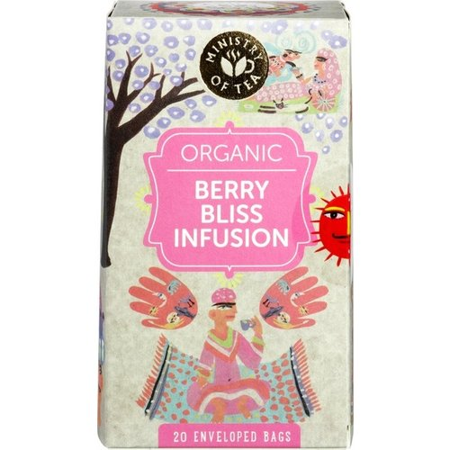 Ministry of Tea Berry Bliss Infusion Thee Biologisch