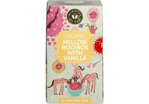 Ministry of Tea Mellow Rooibos Vanilla Thee Biologisch